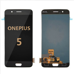 Back and front for OnePlus 5 LCD Black