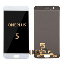 Back and front for OnePlus 5 LCD White