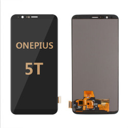 Back and front for OnePlus 5T LCD Black