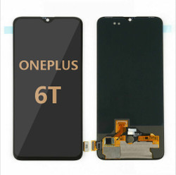 Back and front for OnePlus 6T LCD Black