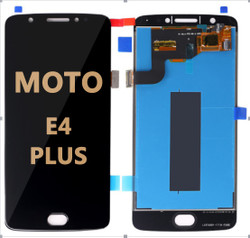 Moto E4 Plus lcd black