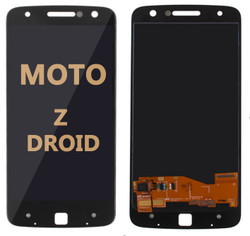 LCD and Digitizer Assembly for Moto Z Droid (1650-01) Black