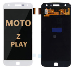 LCD and Digitizer Assembly for Moto Z Play (1635-01) white