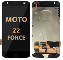 LCD and Digitizer Assembly for Moto Z2 Force (1789) black