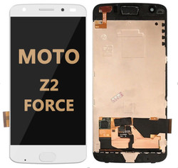 LCD and Digitizer Assembly for Moto Z2 Force (1789) white
