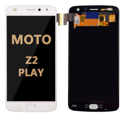 LCD and Digitizer Assembly for Moto Z2 Play (1710)  WHITE