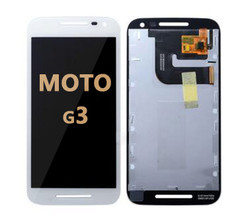 LCD and Digitizer Assembly for Moto G3 (1540) WHITE
