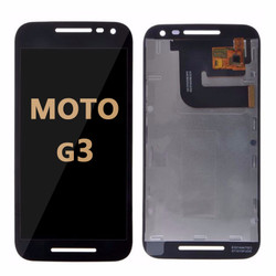 LCD and Digitizer Assembly for Moto G3 (1540) BLACK