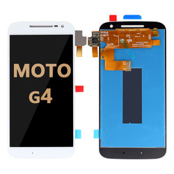 LCD and Digitizer Assembly for Moto G4 (1625) white