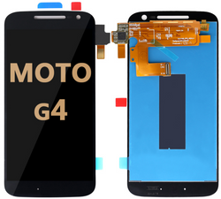 LCD and Digitizer Assembly for Moto G4 (1625)  black