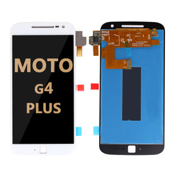 LCD and Digitizer Assembly for Moto G4 Plus (1643) WHITE