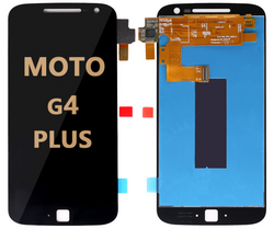LCD and Digitizer Assembly for Moto G4 Plus (1643) BLACK
