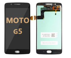 LCD and Digitizer Assembly for Moto G5 (1670) BLACK