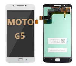 LCD and Digitizer Assembly for Moto G5 (1670) WHITE