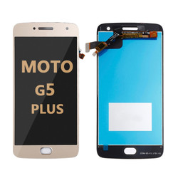 LCD and Digitizer Assembly for Moto G5 Plus (1685) gold