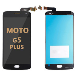 LCD and Digitizer Assembly for Moto G5 Plus (1685) black