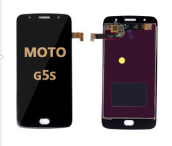 LCD and Digitizer Assembly for Moto G5S (1793) black