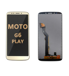 LCD and Digitizer Assembly for  Moto G6 Play (1922) GOLD