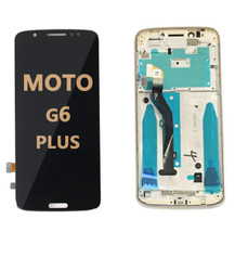 LCD and Digitizer Assembly  with Frame for Moto G6 Play (1922)  Black