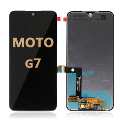 LCD and Digitizer Assembly for Moto G7 (1962) black
