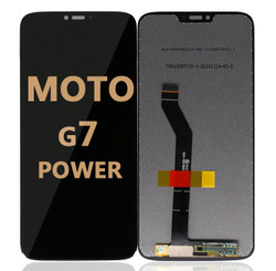 LCD and Digitizer Assembly for Moto G7 Power (1955) BLACK
