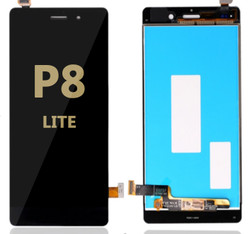 LCD and Digitizer Assembly for Huawei P8 Lite Black