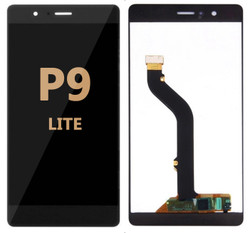 LCD and Digitizer Assembly for Huawei P9 Lite Black