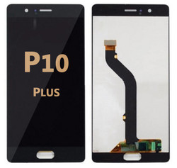 Back and front LCD and Digitizer Assembly for Huawei P10 Plus Black