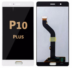 Back and front LCD and Digitizer Assembly for Huawei P10 Plus white