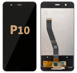 Back and front LCD and Digitizer Assembly for Huawei P10 Black
