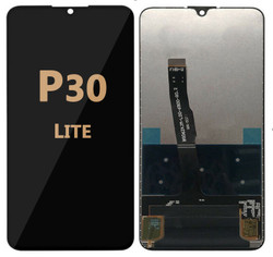 Back and front LCD and Digitizer Assembly for Huawei P30 Lite Black