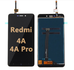 Back and front LCD and Digitizer Assembly for Redmi 4A/4A Pro Black