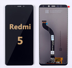 Back and front LCD and Digitizer Assembly for Redmi 5