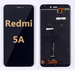 Back and front LCD and Digitizer Assembly for Redmi 5A Black
