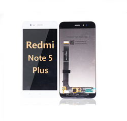 Back and front LCD and Digitizer Assembly for redmi note 5 plus white