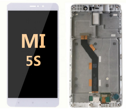 LCD and Digitizer Assembly with frame for Mi 5S White