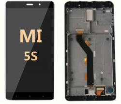 LCD and Digitizer Assembly with frame for Mi 5S Black