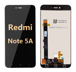 Back and front LCD and Digitizer Assembly for redmi note 5A black