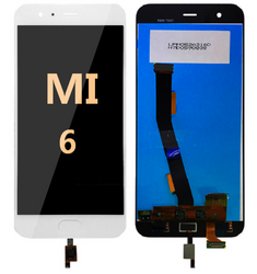 LCD and Digitizer Assembly for Mi 6 White