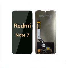 back and front LCD and Digitizer Assembly for redmi note 7 black