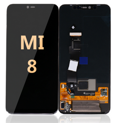 LCD and Digitizer Assembly  for Mi 8 Black