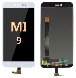 LCD and Digitizer Assembly for Mi 9 White