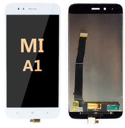 LCD and Digitizer Assembly For Mi A1 White