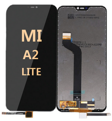 LCD and Digitizer Assembly For Mi A2 Lite  Black