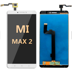 LCD and Digitizer Assembly For Mi Max 2 White