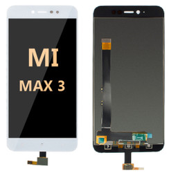 LCD and Digitizer Assembly For Mi Max 3 White