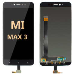 LCD and Digitizer Assembly For Mi Max 3 Black