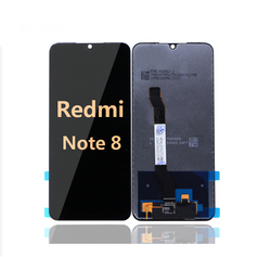 Back and Front LCD and Digitizer Assembly for Redmi Note 8 Black