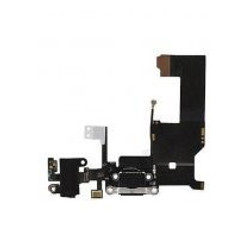 Charging Port Flex Cable w/Headphone Jack for iphone 5G(BLACK) (Premium)