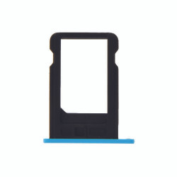 For iPhone 5C Sim Tray (BLUE)